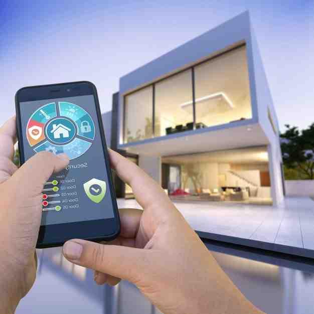 Comment definit on une maison avec de la domotique ?